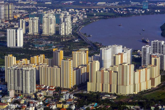 Mùa dịch, giá căn hộ chung cư vẫn tăng nhẹ