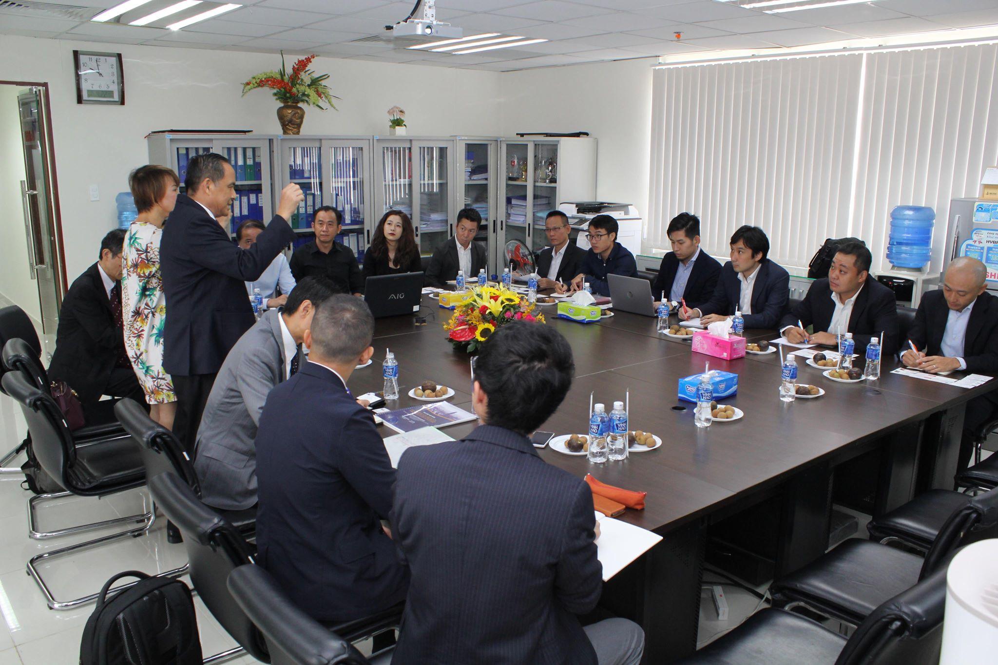 Lãnh đạo HoREA làm việc cùng Đoàn J-CDE