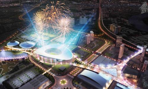 Giá đất gần khu thể thao SEA Games TP HCM tăng gấp đôi