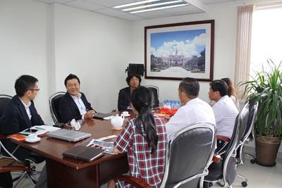 Lãnh đạo HoREA tiếp đoàn Panasonic, ngày 22 tháng 09 năm 2017