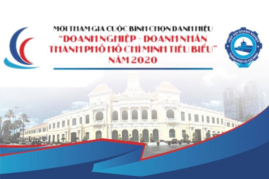 Mời tham gia Cuộc bình chọn Doanh Nghiệp, Doanh Nhân Tp. Hồ Chí Minh tiêu biểu năm 2020