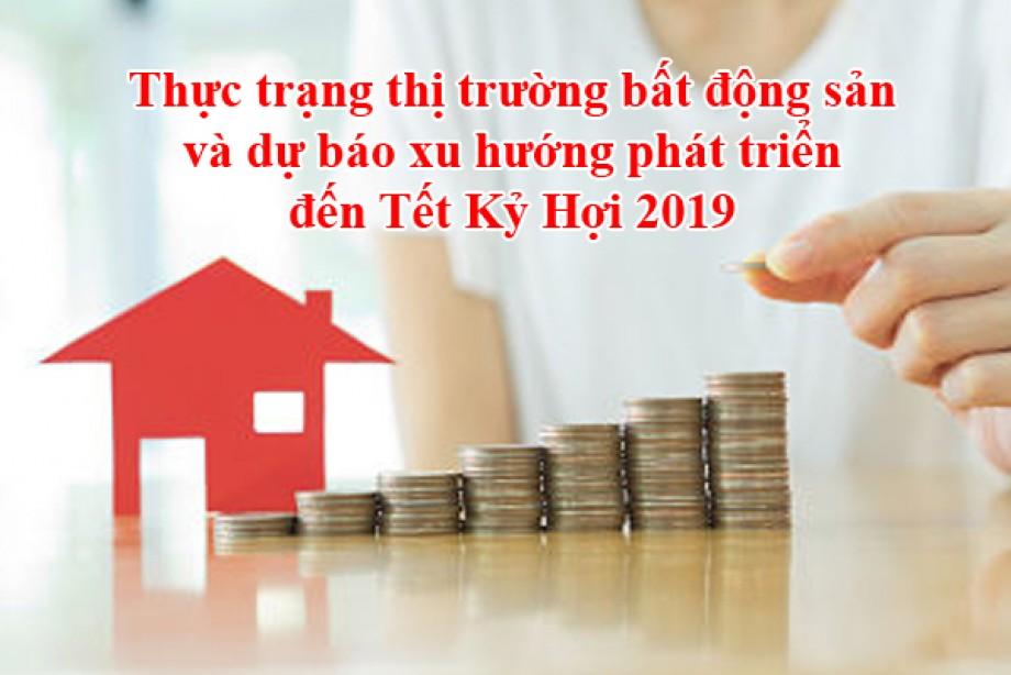 Thực trạng thị trường bất động sản và dự báo xu hướng phát triển đến Tết Kỷ Hợi 2019