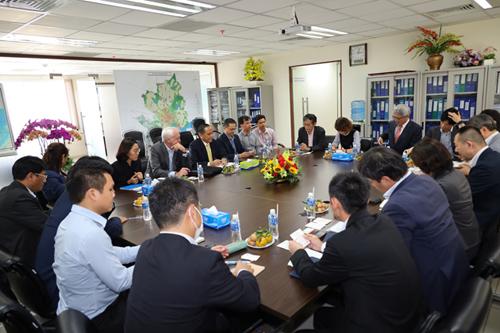 Lãnh đạo HoREA tiếp đoàn J-CODE Nhật Bản, ngày 26 tháng 02 năm 2020