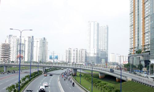 Địa ốc Sài Gòn tăng trưởng gần gấp đôi sau mỗi chu kỳ 5 năm