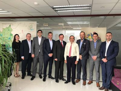 Lãnh đạo HoREA làm việc với đoàn khách quốc tế tìm hiểu về thị trường bất động sản TPHCM