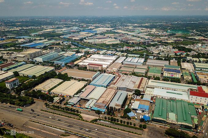 Giá thuê bất động sản công nghiệp tăng kỷ lục