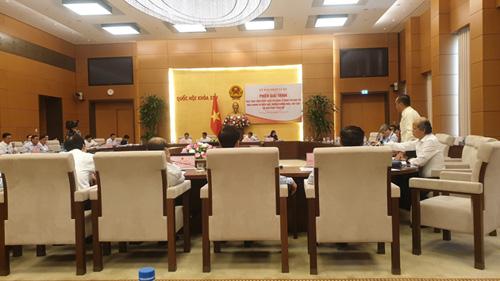 Lãnh đạo HoREA họp tại Uỷ ban Pháp luật Quốc hội, ngày 24 04 2019