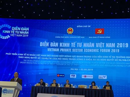 Diễn đàn kinh tế tư nhân Việt Nam 2019