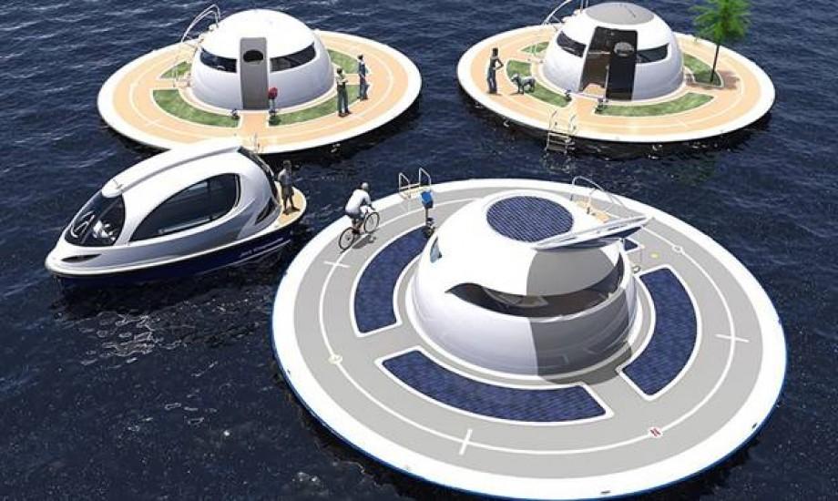 Dự án thiết kế siêu bền vững cho ngôi nhà nổi tại Ý