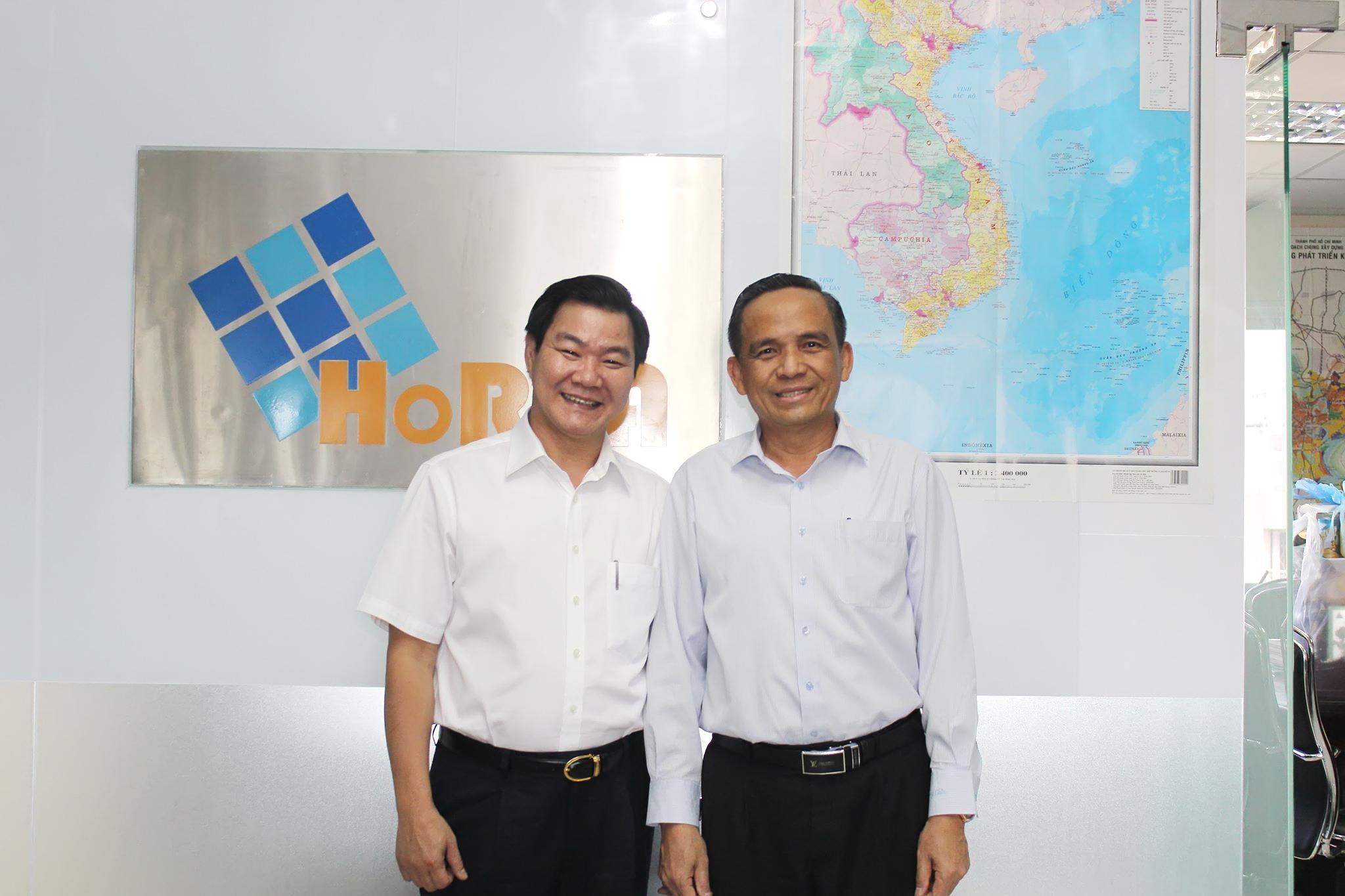 Chủ tịch HoREA làm việc cùng Ông Nguyễn Văn Kim - Chủ tịch Nguyễn Kim Group