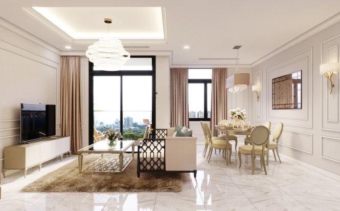 Sôi động căn hộ cao cấp dịp cuối năm