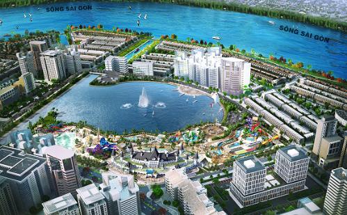 Khu đô thị 2 tỷ USD ở TP HCM đẩy mạnh hoàn thiện hạ tầng