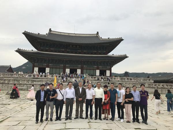 Chủ tịch HoREA, Ông Lê Hoàng Châu có chuyến Công tác tại Hàn Quốc