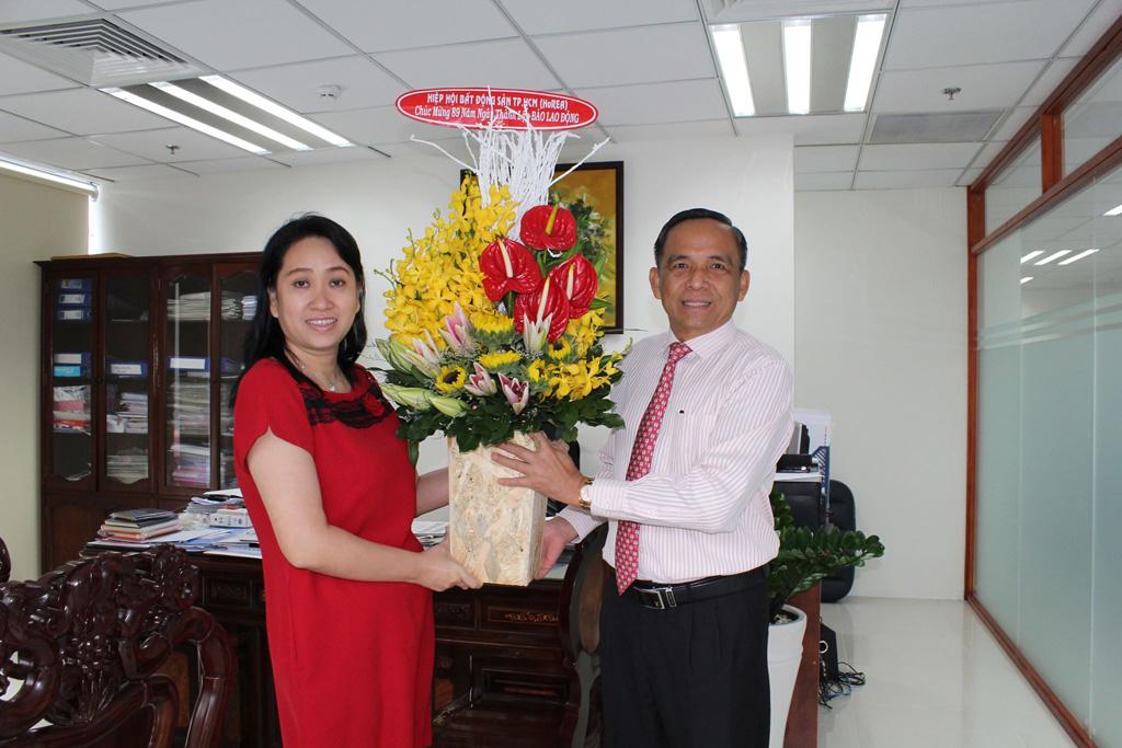 HoREA Chúc mừng 89 năm ngày thành lập Báo Lao Động