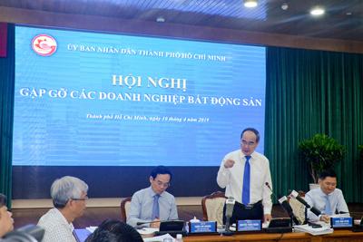 Lãnh đạo TPHCM gặp gỡ và tháo gỡ khó khăn cho doanh nghiệp BĐS trên địa bàn TPHCM