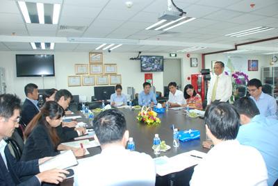 Lãnh đạo HoREA làm việc với Cơ quan Tái thiết Đô thị, thuộc Bộ Đất đai, Cơ sở Hạ tầng và Giao thông Nhật Bản ngày 26/10/2017