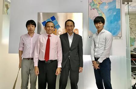 Lãnh đạo HoREA làm việc với Công ty TNHH Hankyu Realty