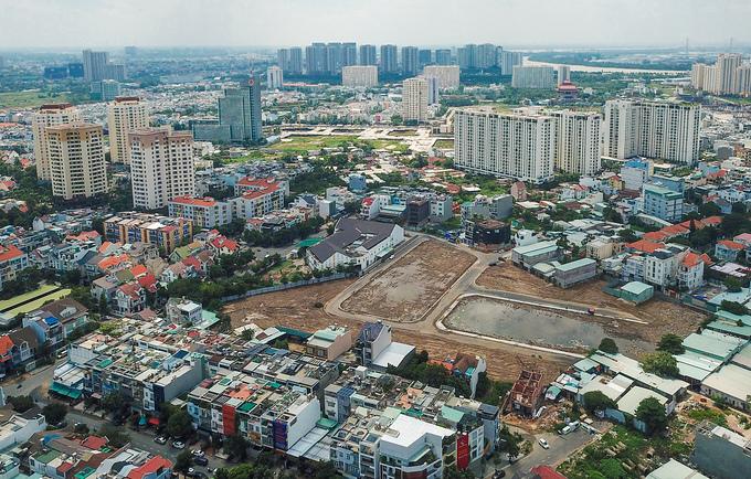 Thị trường căn hộ Hà Nội, TP HCM đều trông chờ khu Đông