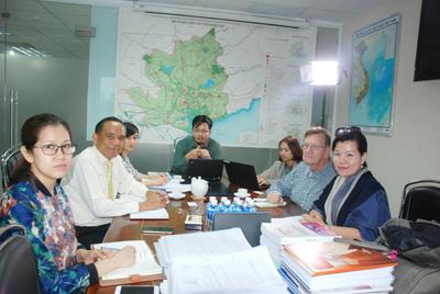 Lãnh đạo HoREA tiếp Đoàn USAID đến từ Hoa Kỳ