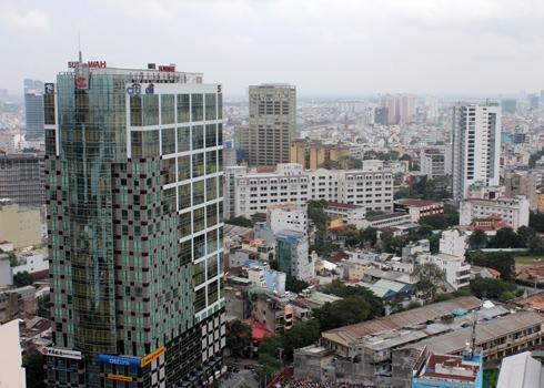 Giá thuê văn phòng hạng A tại TP HCM tăng gần 20%