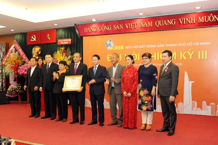 Đại hội nhiệm kỳ III Hiệp hội Bất động sản TP Hồ Chí Minh