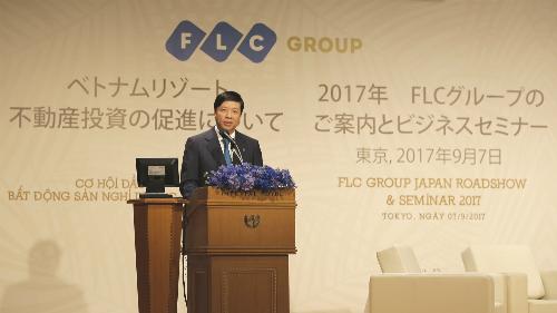 Bất động sản nghỉ dưỡng Việt Nam ra mắt nhà đầu tư Nhật Bản