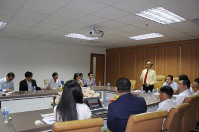 Lãnh đạo HoREA làm việc cùng Công ty DaiKin và BOSCH, ngày 19 tháng 9 năm 2017