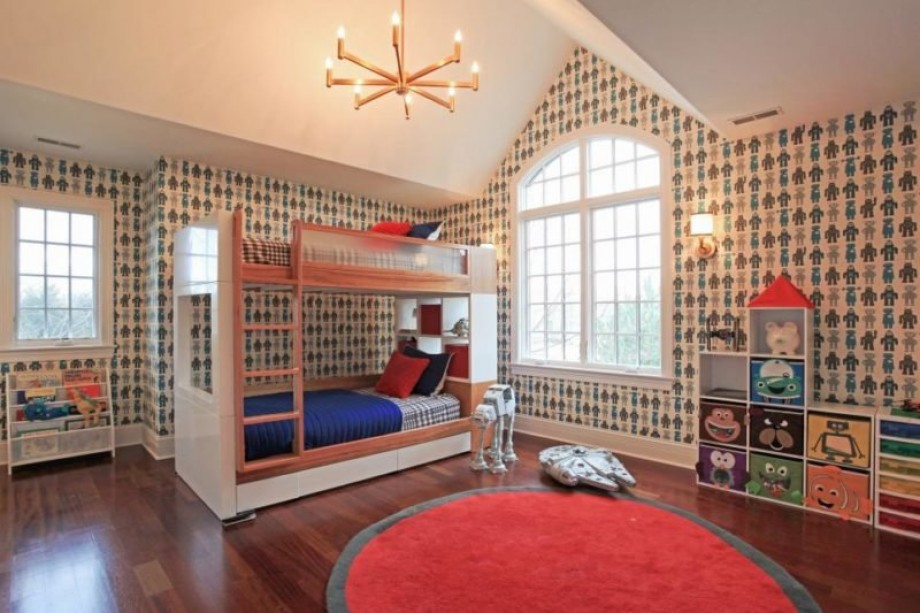 10 mẫu giấy dán tường ngộ nghĩnh khơi nguồn sáng tạo cho bé