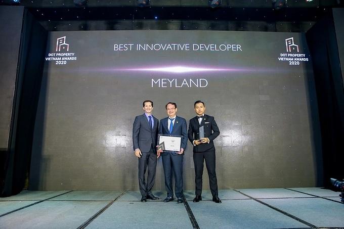 Meyland chiến thắng kép tại Dot Property Vietnam Awards 2020