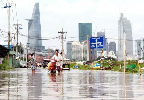 7 lý do nên mua nhà Sài Gòn mùa mưa lũ