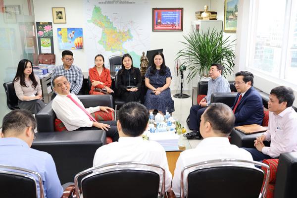 Lãnh đạo HoREA làm việc cùng Lãnh đạo Ban Kinh tế Trung ương, ngày 27 tháng 11 năm 2020